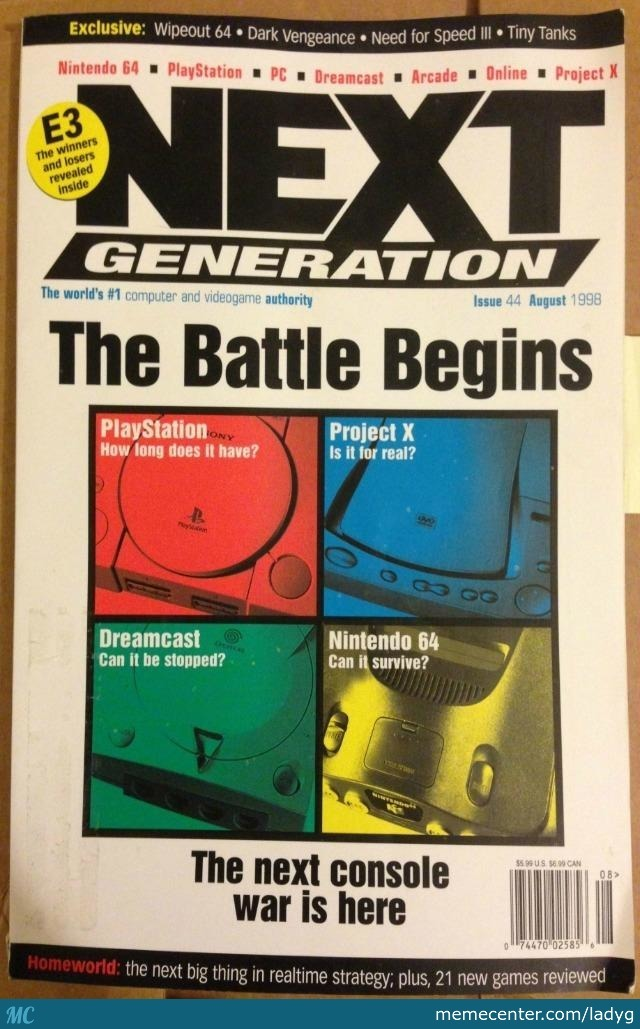 Found This Magazine On The Interwebz. Its From 1998