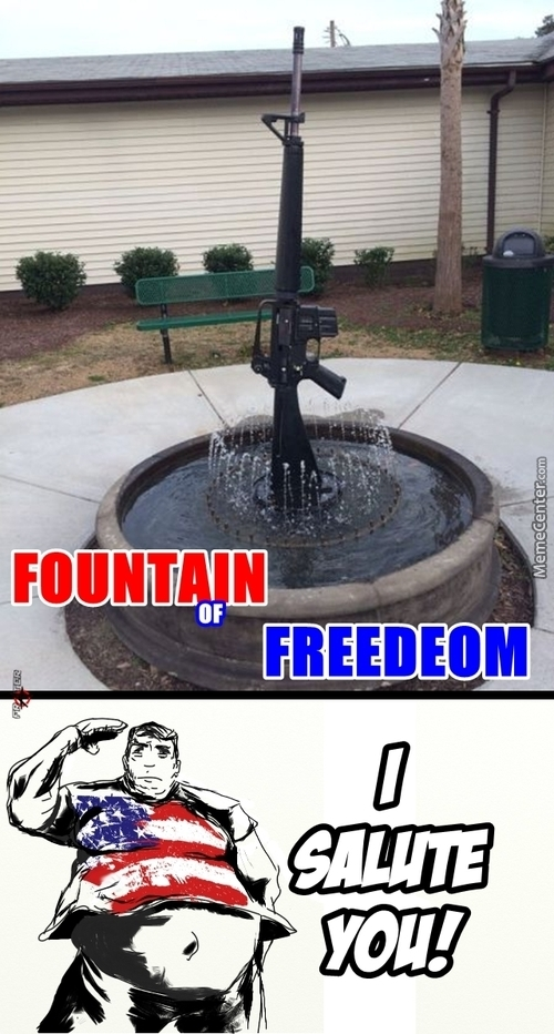 Fountain Of Freedom