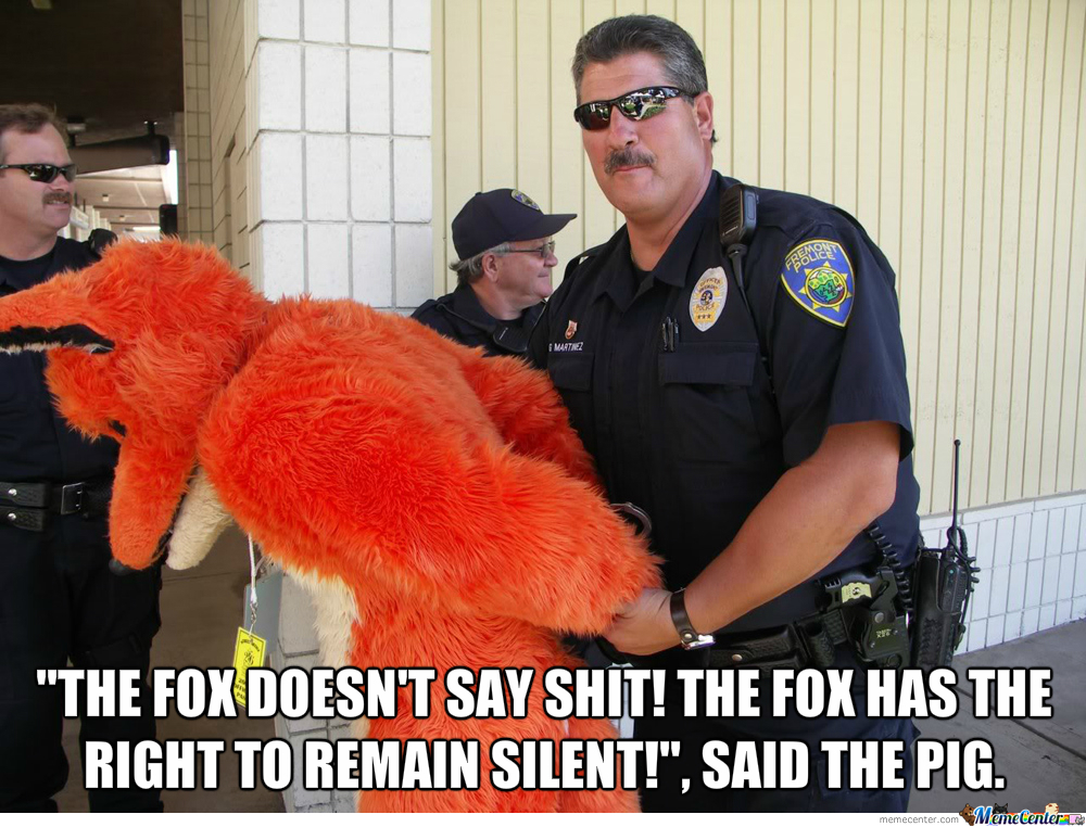 Fox In Cuffs