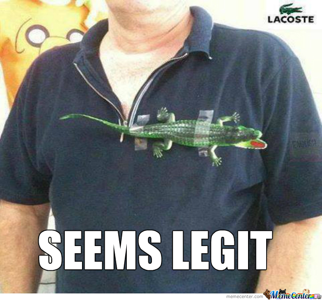 Frankly I'd Buy This Shirt, Since You Get A Toy Crocodile With It