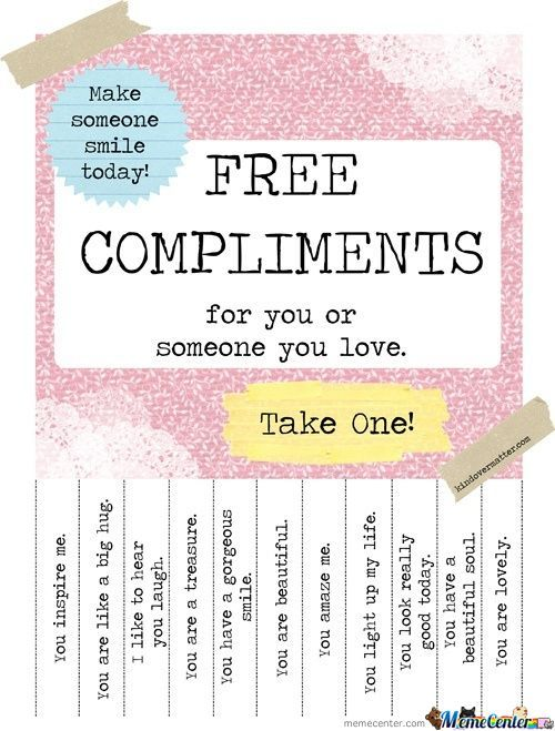 Free Compliments!!