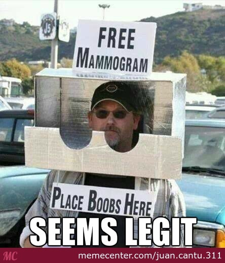 Funny Meme Free Download : Free mammogram by recyclebin meme center