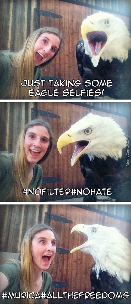 Freedom Inspired Selfies!