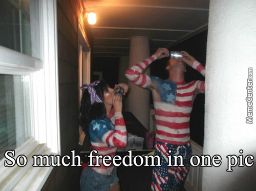 Freedom Is For The Free, And Nothing Is Free, So Who Is Free You Ask? Yes