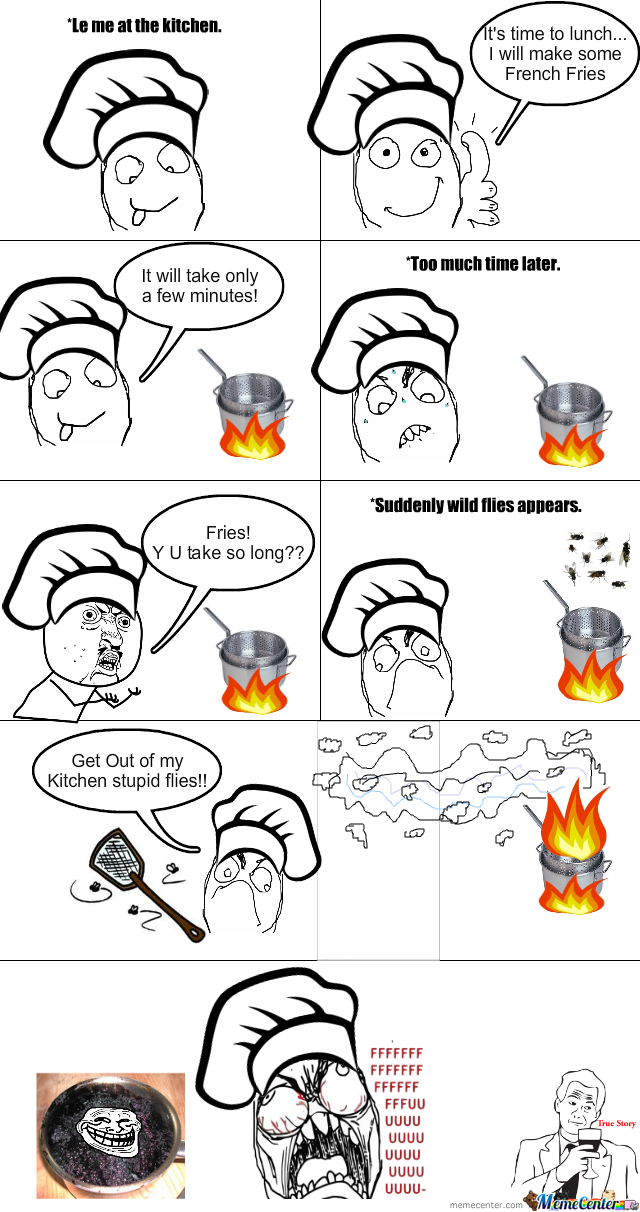 French Fries Troll