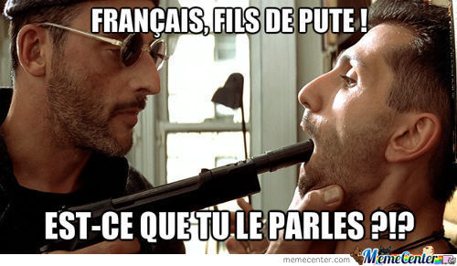 French, Motherfucker ! Do You Speak It ?!?