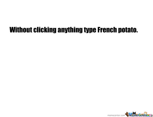 French Potato