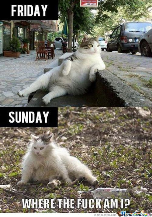 Friday And Sunday
