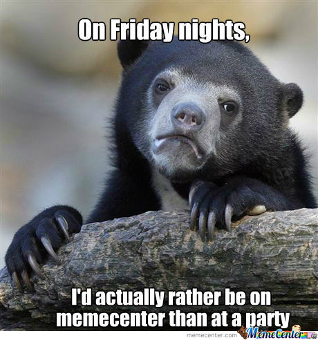Friday Night Confession Bear