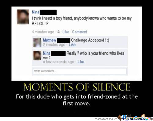 Friend Zoned At The First Move