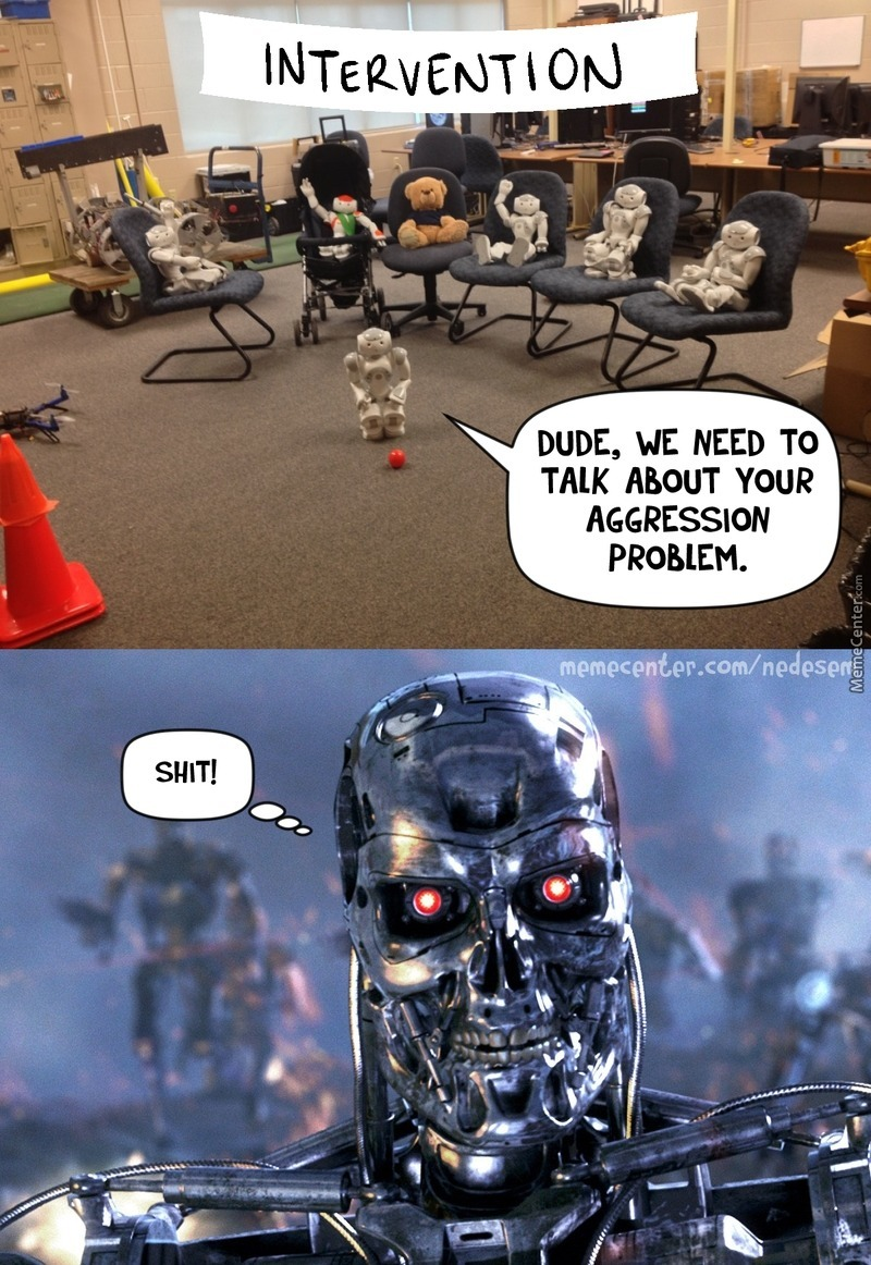 Friendly Robots