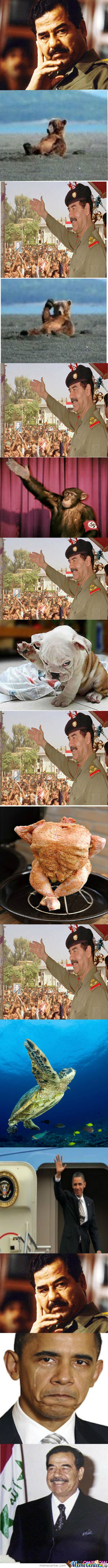 Friendly Saddam