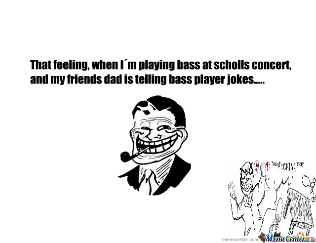 Friends Troll Dad