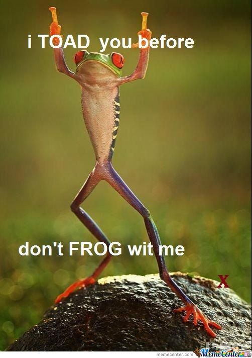 Frogs N Shit