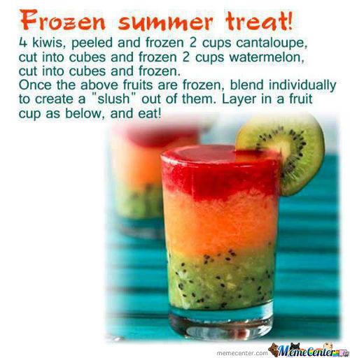 Frozen Summer Treat