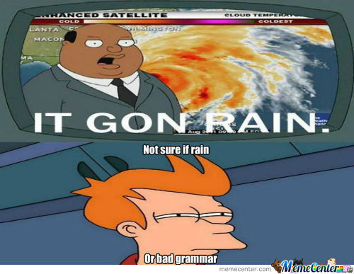 Fry Just Doesn't Know..