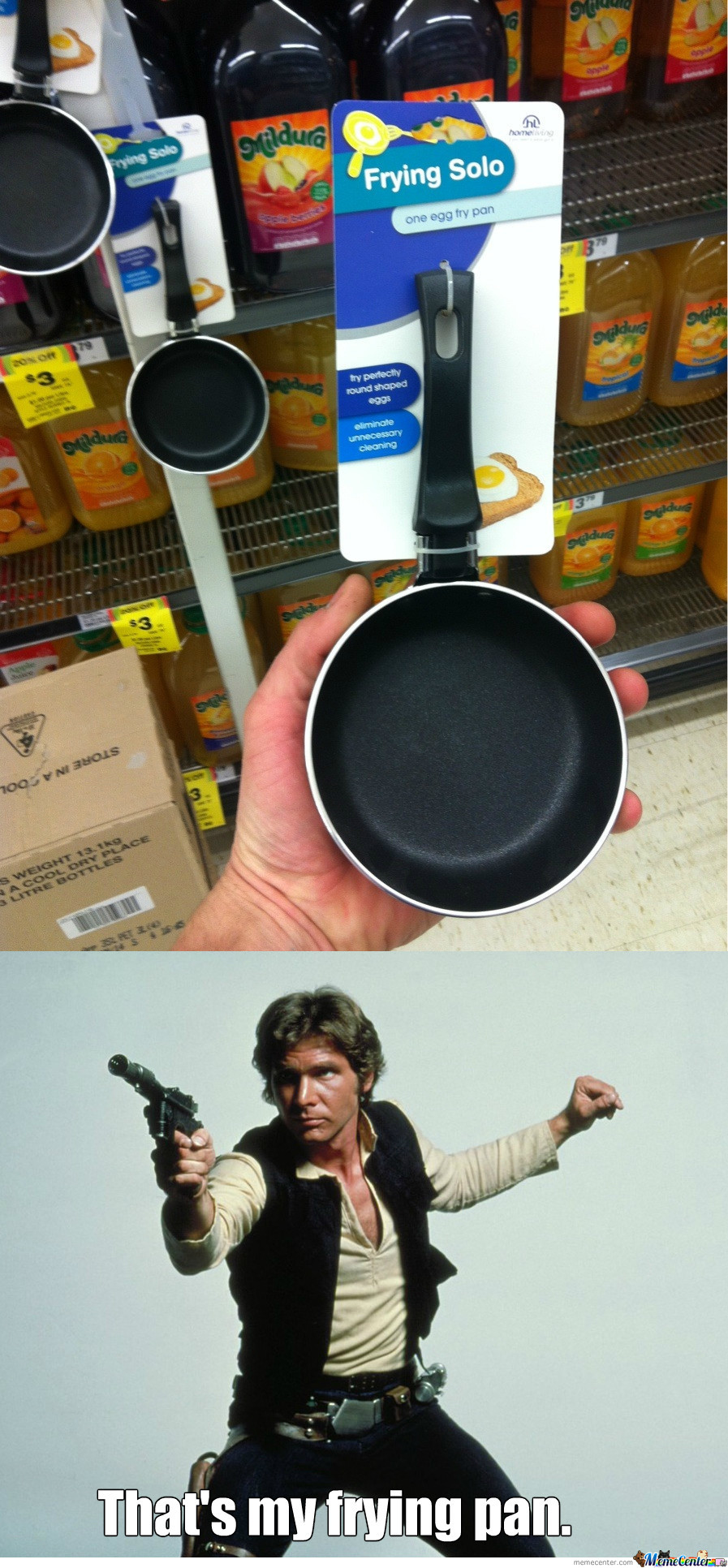Frying With Han Solo