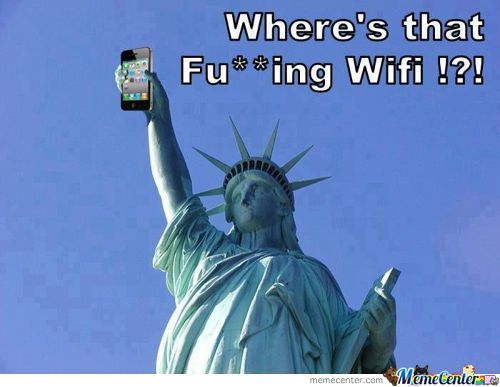 Fu**king Wifi