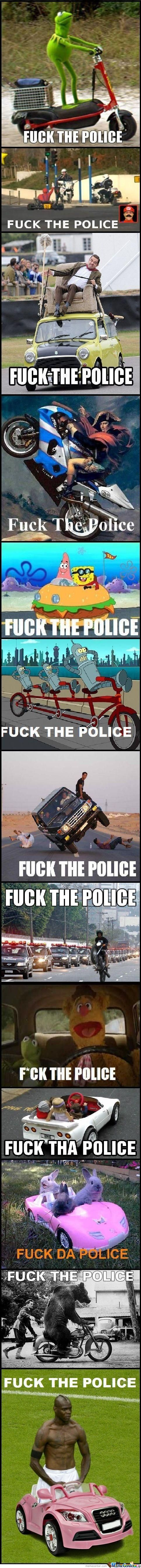 F*ck The Police Compilation