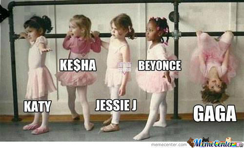 Pop Stars As Kids