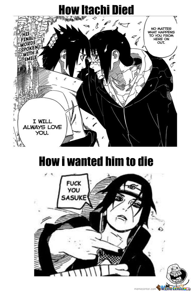 Fuck You Sasuke