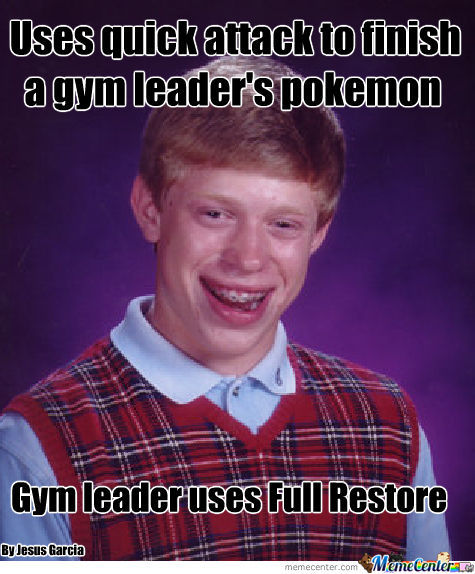 Fucking Gym Leaders