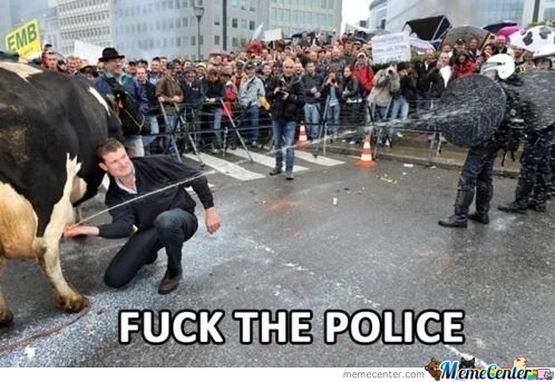 Fudge The Police