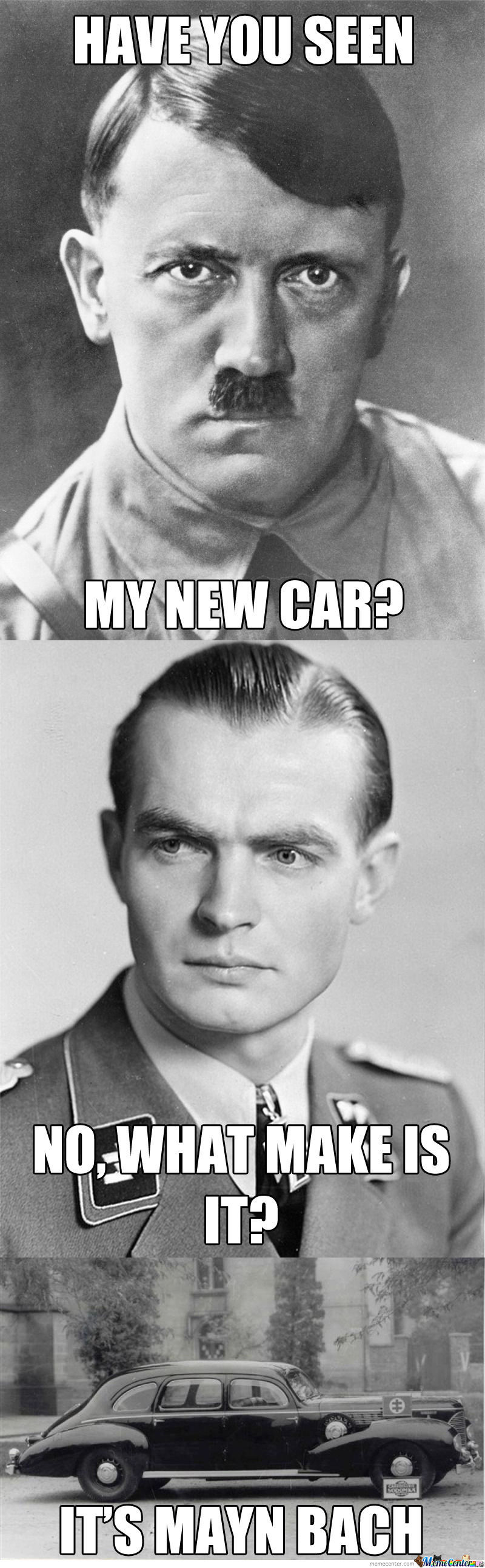 Fuhrer's New Car