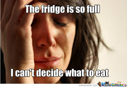 Full Fridge Problems