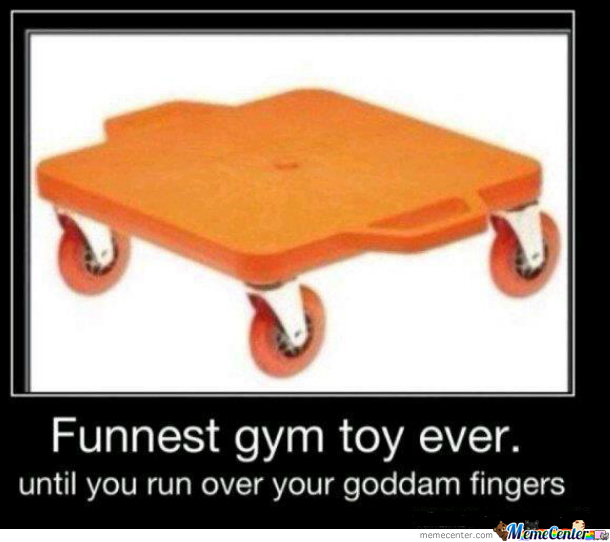 Funnest Gym Toy Ever