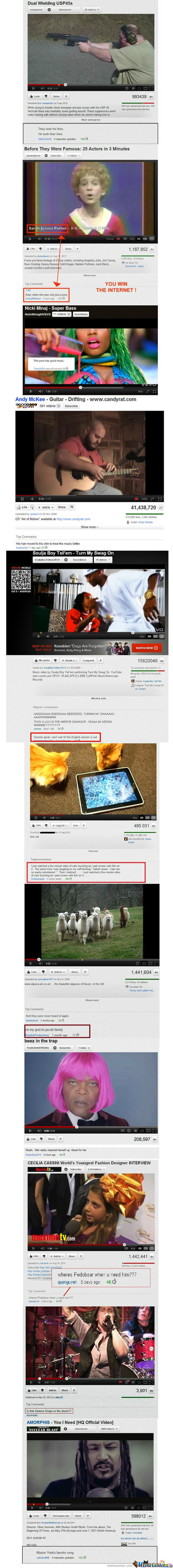 Funniest Youtube Comments Compilation