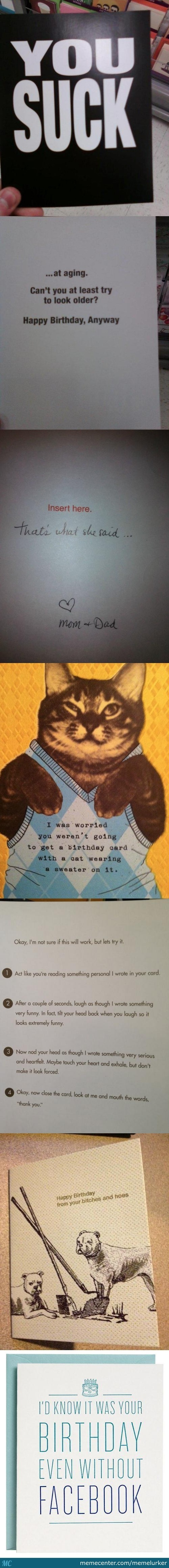 Funny Birthdy Cards
