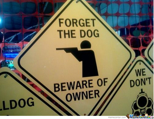 Funny Warning Sign?