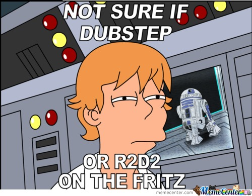 Futurama Skywalker Is Not Sure