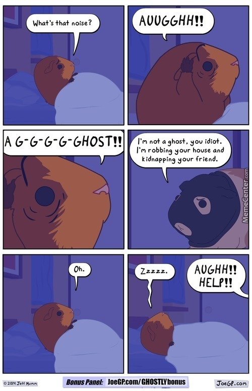 G-G-Ghostly Encounters