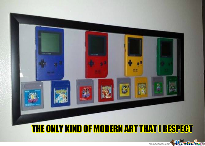 Game Boy Color Art