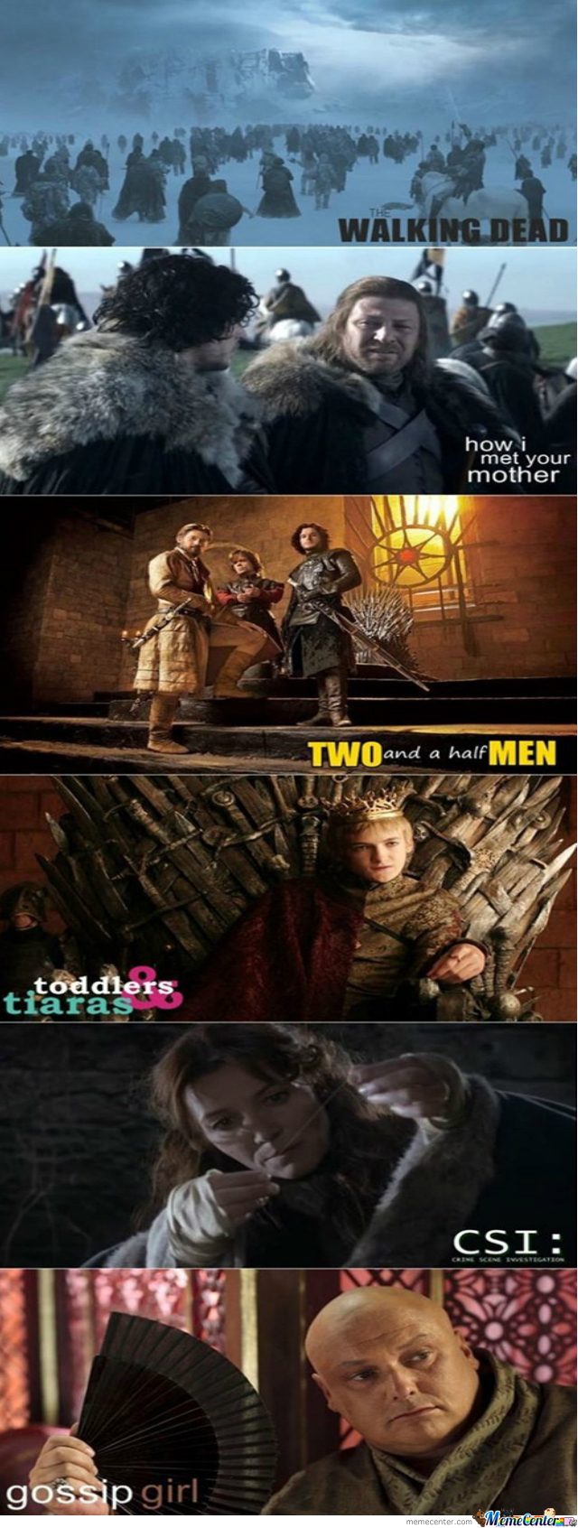 Game Of Thrones And Other T.v Shows
