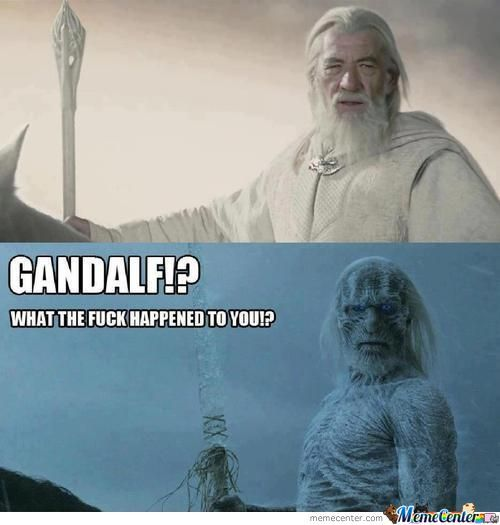 Game Of Thrones & Lord Of The Rings Crossover