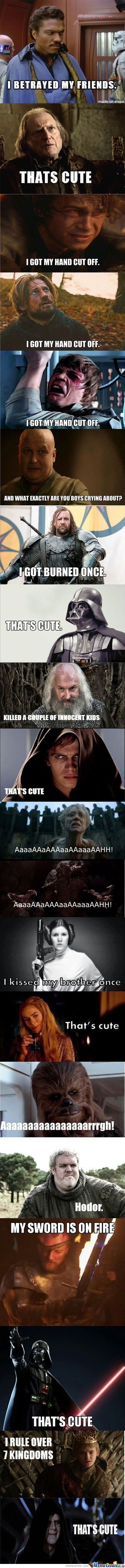 Game Of Thrones Vs. Star Wars
