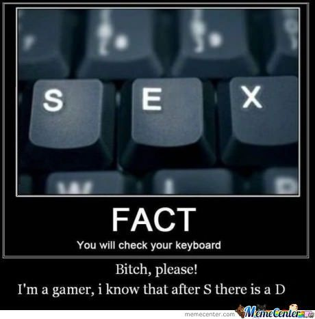 Gamer - Wasd Run Through My Veins B)