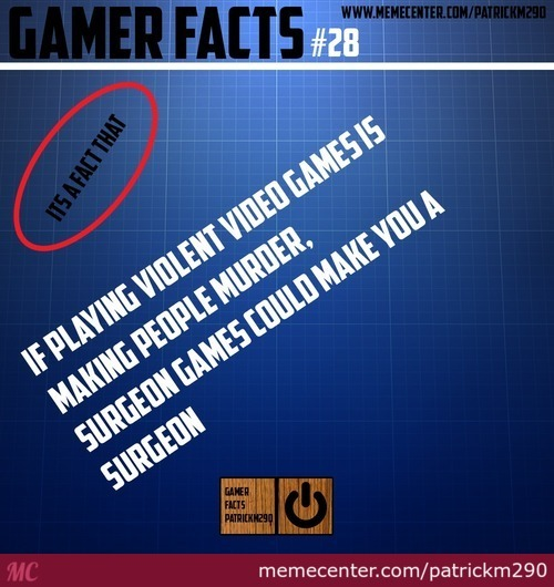 Gamer Facts #28