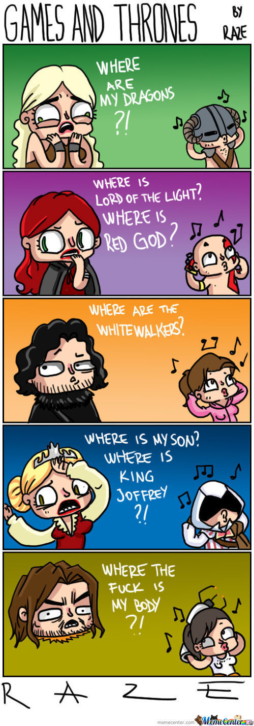 Games And Thrones