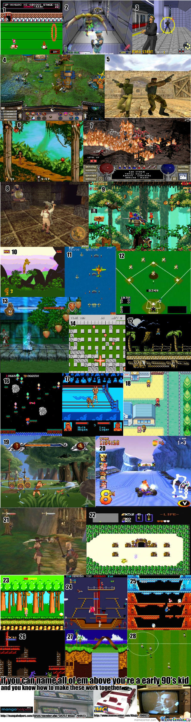 Games I Used To Play Compilation Part 2