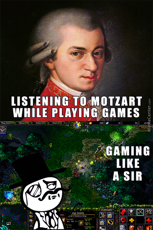 Gaming Like A Sir