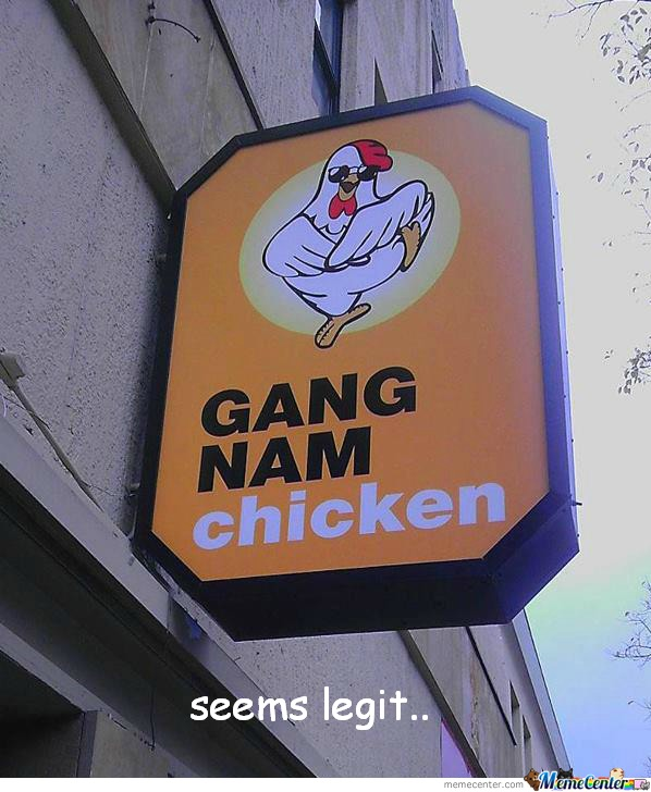 Gangnam Chicken