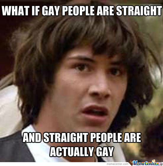 Gays And Straights