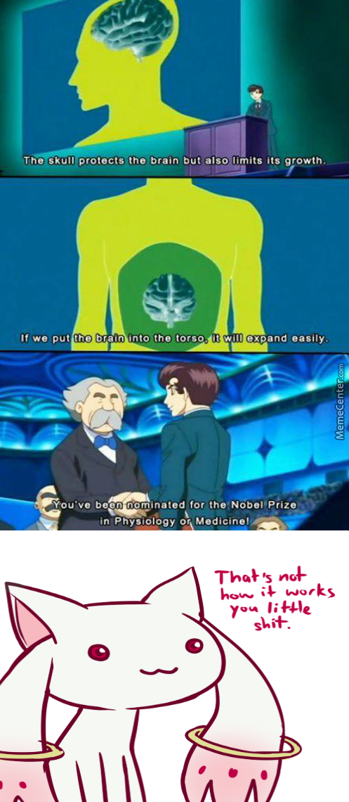 Genius. (Anime: Black Jack )
