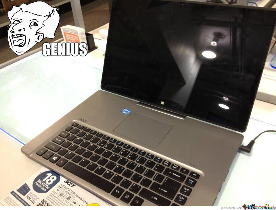 Genius Laptop Design