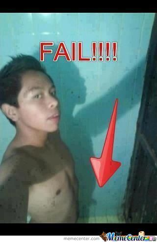 Genius Self Photograph Fail!!
