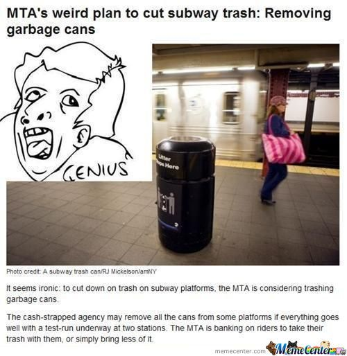 Genius By Recyclebin Meme Center